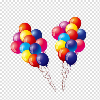 Toy balloon, Colored balloons transparent background PNG clipart png image transparent background