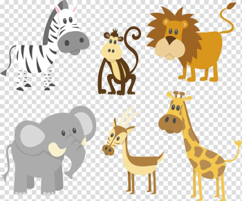 Animals , Giraffe Animal Elephant , painted animals transparent background PNG clipart png image transparent background