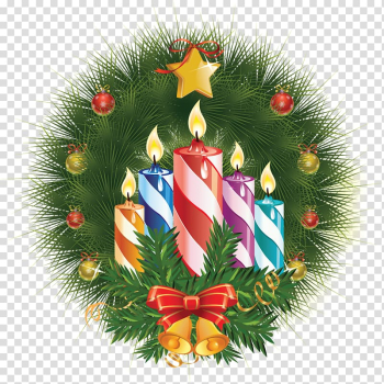 Birthday cake New Years Day Christmas Candle, Christmas candles creative transparent background PNG clipart png image transparent background