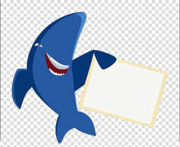 Great white shark Fish, Cartoon white shark transparent background PNG clipart png image transparent background