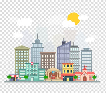 City buildings animated illustration, Lucknow Smart Cities Mission Smart city Internet of Things Plan, city building transparent background PNG clipart png image transparent background
