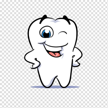White tooth , Human tooth Dentistry Smile , Cartoon white teeth transparent background PNG clipart png image transparent background