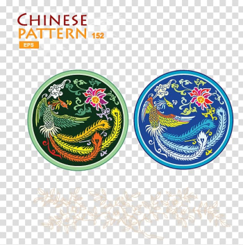 Chinese dragon Fenghuang Cdr, Phoenix Chinese wind color icon transparent background PNG clipart png image transparent background