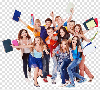 Group of people s, Student group Education University School, Students transparent background PNG clipart png image transparent background