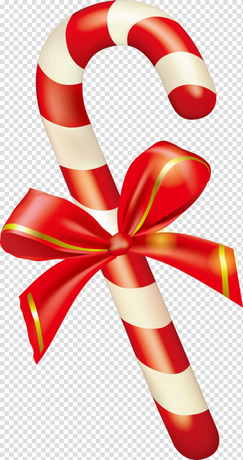 Candy cane Christmas , Painted red Christmas candy cane transparent background PNG clipart png image transparent background