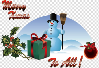 Christmas card We Wish You a Merry Christmas Greeting, Snowman transparent background PNG clipart png image transparent background