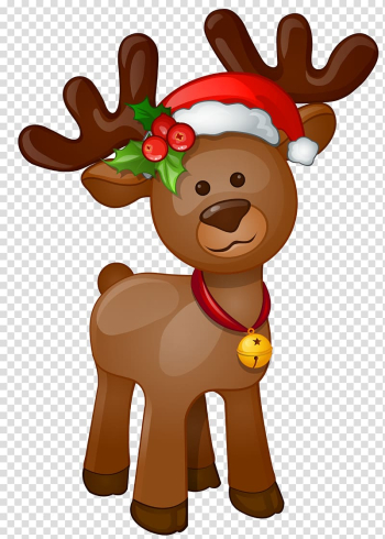 Reindeer illustration, Rudolph Santa Claus Christmas , Rudolph transparent background PNG clipart png image transparent background