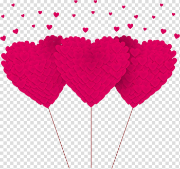 Heart-shaped hand-painted decorative transparent background PNG clipart png image transparent background