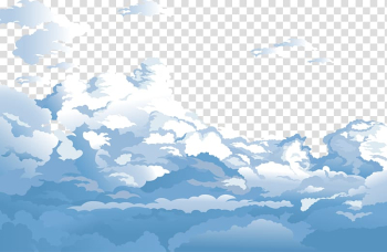 Sky Cloud Euclidean Blue, Blue sky and white clouds , animated clouds transparent background PNG clipart png image transparent background