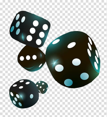 Five black dice , Yahtzee Dice game Icon, Black dice transparent background PNG clipart png image transparent background
