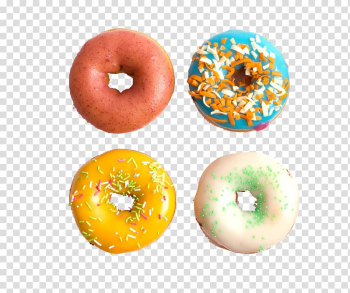 IPhone 5s iPhone 6 Plus Doughnut, Colored donut transparent background PNG clipart png image transparent background