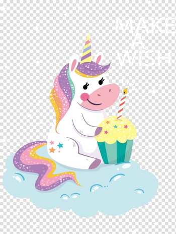 Happy Birthday Unicorn Greeting & Note Cards T-shirt, Birthday transparent background PNG clipart png image transparent background