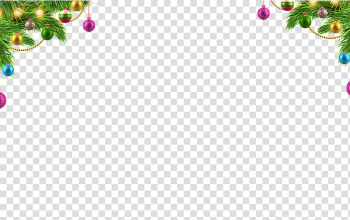 Santa Claus Borders and Frames Christmas ornament , Creative Christmas holiday transparent background PNG clipart png image transparent background