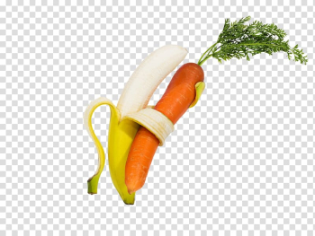 Muffin Carrot Banana Vegetable, Creative fruits and vegetables transparent background PNG clipart png image transparent background
