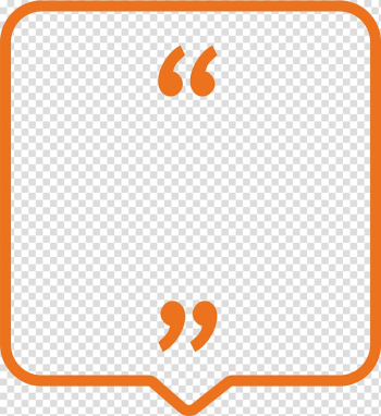 Orange quotation , Maitland\'s vertebral manipulation Smart Girls LINE, Orange lines bubble box transparent background PNG clipart png image transparent background