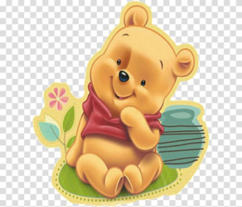 Winnie-the-Pooh Baby shower Infant Birthday Party, winnie the pooh transparent background PNG clipart png image transparent background