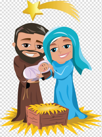 Holy Family Nativity of Jesus Nativity scene Christmas Child Jesus, Jesus transparent background PNG clipart png image transparent background