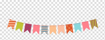 Paper Bunting Party , Color decorative hanging flag s, multicolored buntings illustration transparent background PNG clipart png image transparent background