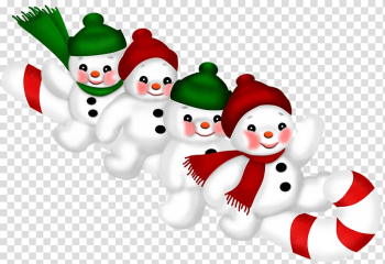 Christmas Happiness Monday Blessing Advent, Several snowman transparent background PNG clipart png image transparent background