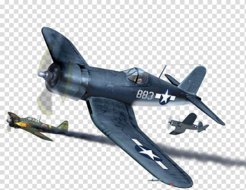 Vought F4U Corsair Focke-Wulf Fw 190 Airplane Grumman F4F Wildcat Aircraft, airplane banner transparent background PNG clipart png image transparent background