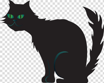 Black cat Kitten Domestic short-haired cat Whiskers, kitten transparent background PNG clipart png image transparent background