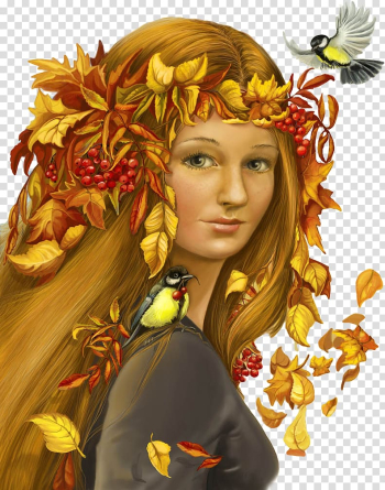 Autumn Woman Бойжеткен Girl Winter, autumn transparent background PNG clipart png image transparent background
