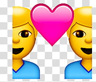 Snapchat Emojis Love Lesbian Gay, heart iPhone emoji transparent background PNG clipart png image transparent background