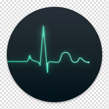 Clay OS  A macOS Icon, Activity Monitor, heart beat monitor transparent background PNG clipart png image transparent background