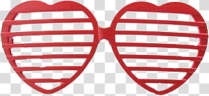 Heart SunGlasses s, red heart glasses transparent background PNG clipart png image transparent background
