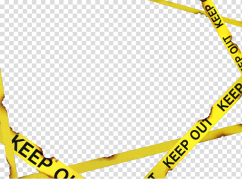 Crime Scene Tape, yellow and black police line illustration transparent background PNG clipart png image transparent background