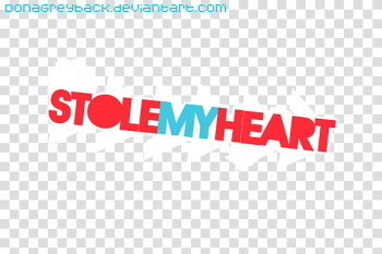 Textos D, stole my heart text overlay transparent background PNG clipart png image transparent background