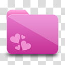 Girlz Love Icons , folder, heart pink art transparent background PNG clipart png image transparent background