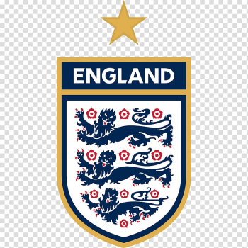 England national football team Three Lions FIFA World Cup Logo, england, England print banner illustration transparent background PNG clipart png image transparent background