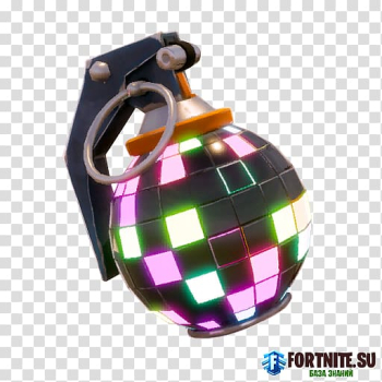 Black grenade with text overlay, Fortnite Battle Royale Bomb Smoke grenade, bomb transparent background PNG clipart png image transparent background
