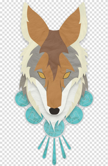Coyote Canidae Dog Day of the Dead Death, Dog transparent background PNG clipart png image transparent background