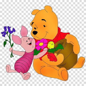 Winnie-the-Pooh Piglet Eeyore Teddy bear , winnie the pooh transparent background PNG clipart png image transparent background