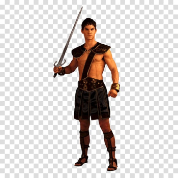 Ancient Rome Halloween costume Gladiator Clothing, Roman Gladiator transparent background PNG clipart png image transparent background