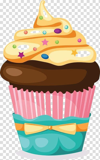 Cupcake Muffin Frosting & Icing Birthday cake, cake transparent background PNG clipart png image transparent background