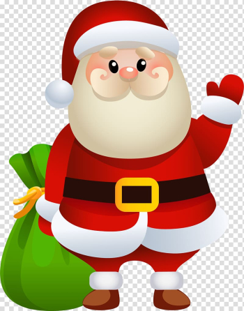 Santa Claus Rudolph Christmas Gift , Cartoon santa claus transparent background PNG clipart png image transparent background