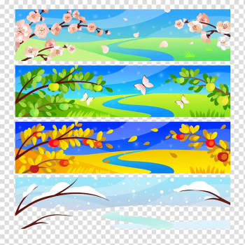 White butterflies between flowers art, Four Seasons Hotels and Resorts , Beautiful scenery seasonal flowers and trees Snow transparent background PNG clipart png image transparent background