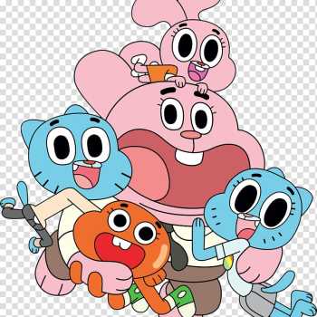 Cartoon Network Gumball Watterson Animated series Television, Animation transparent background PNG clipart png image transparent background