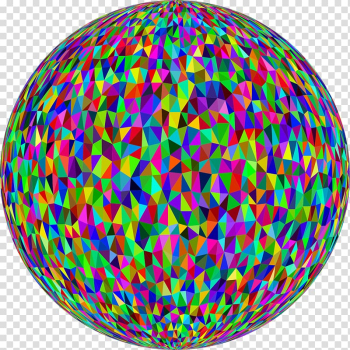 Circle Triangle Ball, abstract sphere transparent background PNG clipart png image transparent background