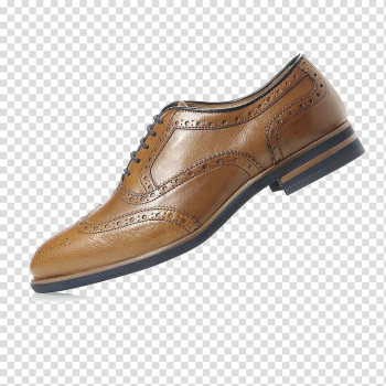 Brogue shoe Leather, Bullock carved tide shoes men pointed shoes transparent background PNG clipart png image transparent background