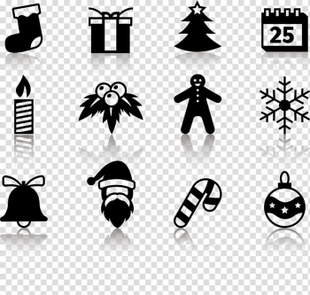 Santa Claus Christmas tree Computer Icons, Creative Christmas transparent background PNG clipart png image transparent background