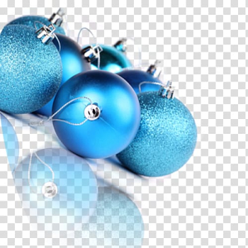 Turquoise Christmas ornament, Creative Christmas transparent background PNG clipart png image transparent background