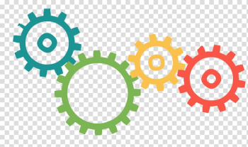 Multicolored machine part , Company Industry Service Management Nearfield Systems Inc., Color gears transparent background PNG clipart png image transparent background