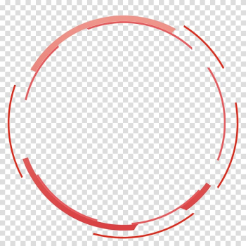 Round pink frame, Adobe Fireworks, Red simple circle border texture transparent background PNG clipart png image transparent background