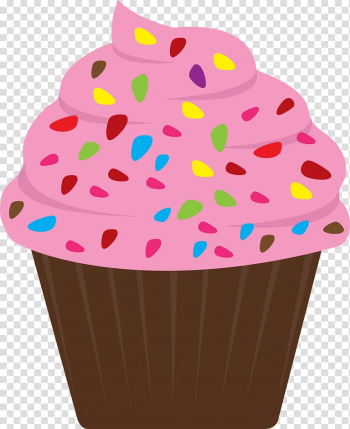 Cupcake Frosting & Icing Birthday cake Sprinkles , cake transparent background PNG clipart png image transparent background