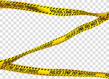 Police Tape s, yellow and black police line do not cross transparent background PNG clipart png image transparent background