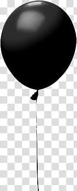 Happy New Year , black balloon transparent background PNG clipart png image transparent background